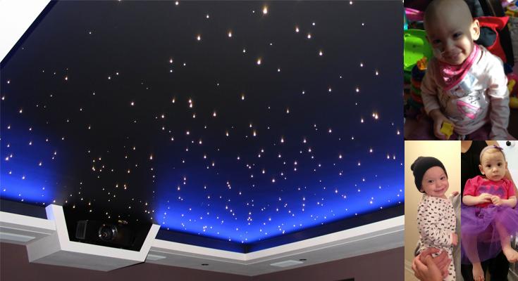 ARYAu0027s Star CEILING PANELS. LED Strip Lights